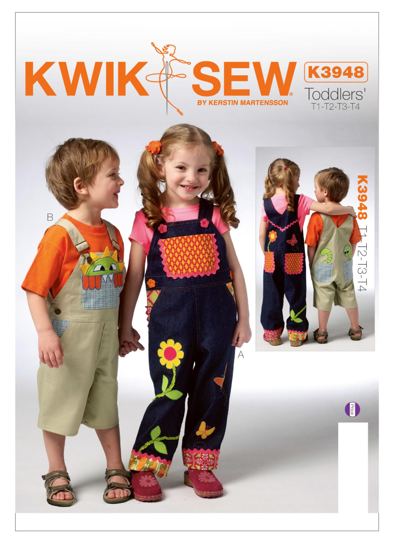 K3948 | Kwik Sew Patterns | For MuMu | Pinterest