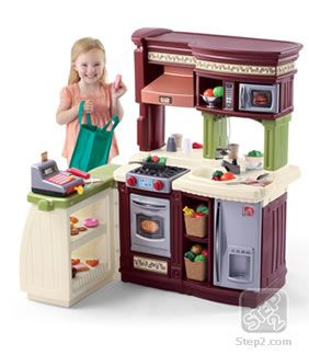 Lifestyle Marketplace Kitchen Play Kitchens By Step2 Detskie