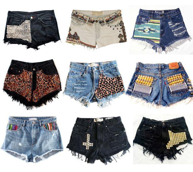 Http Ovoxoc Hubpages Com Hub Custom Made Shorts Trend 3 Diy Shorts Diy Fashion Fashion