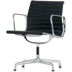 Photo of Vitra Besucherstuhl Alu-Chair schwarz, Designer Charles & Ray Eames, 83×57.5×59 cm Vitra