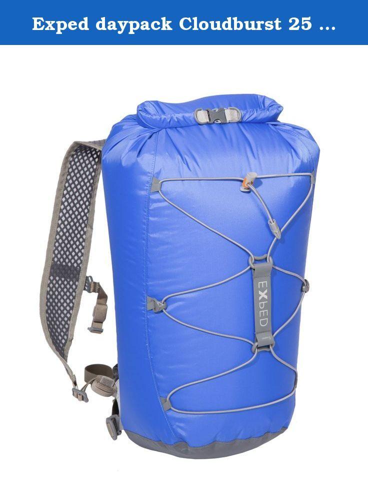 971b9aff18 Exped daypack Cloudburst 25 blue. Backpack  Application  Hiking Build  rear  padding Version   Back length  normal Volume  Large Category  15 - 30 l  Backpack ...