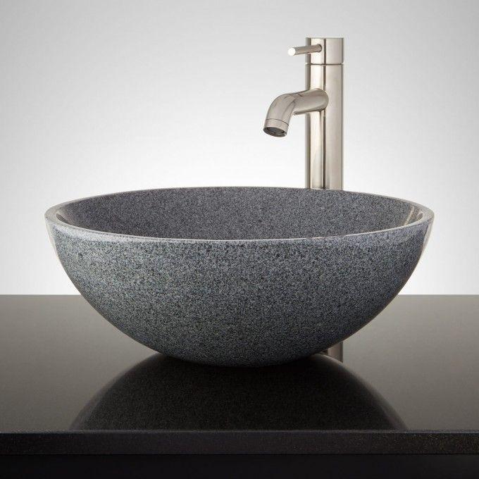 Polished Granite Vessel Sink
