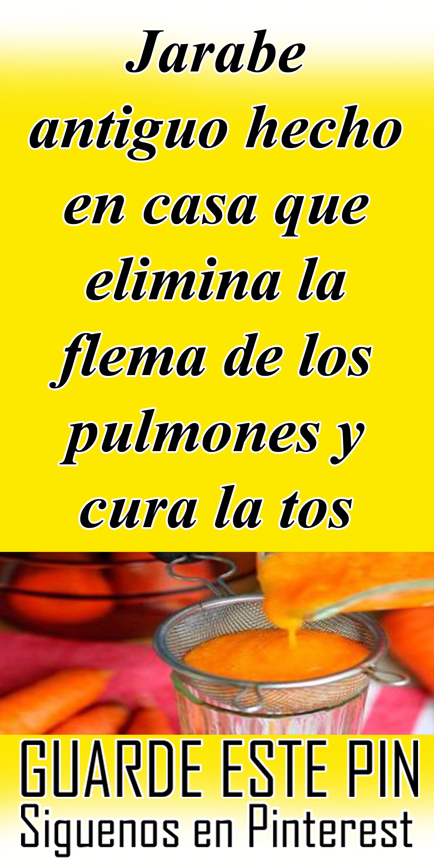 Jarabe Antiguo Hecho En Casa Que Elimina La Flema De Los Pulmones Y Cura La Tos Flema Pulmones Tos Salud Healthy Recipes Food Remedies