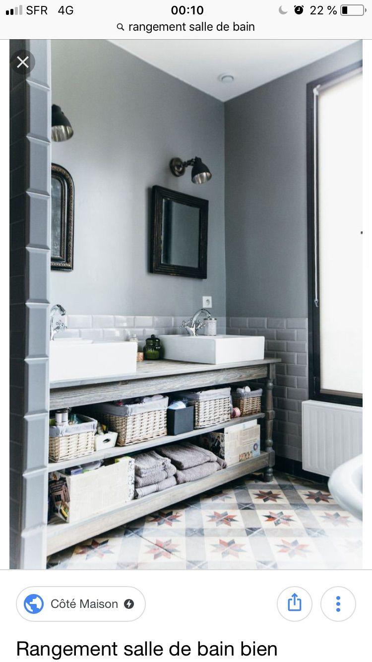 Épinglé par Karin sur Decoration | Pinterest | Salle de bains et Salle