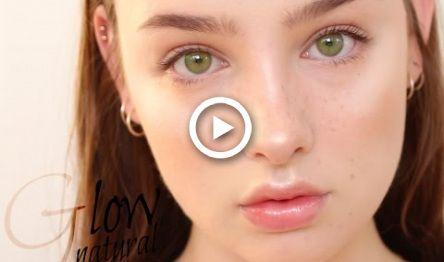 natural daily glowy makeup tutorial  sissel ab makeup