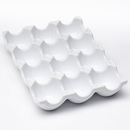 This tray might be designed for storing eggs, but it can also be used to organize little rings and earrings you have lying around the house.