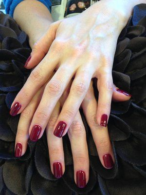 red nails opi - Google Search