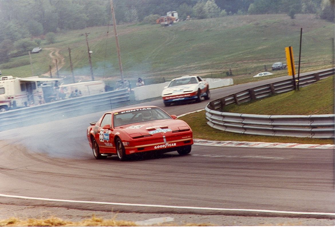 The Players Challenge Series in 1986. Trans Am. He only