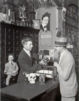 Magic goods shop. Houdini