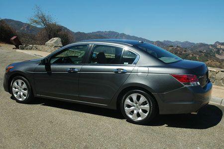 drives the 2008 Honda Accord sedan and coupe  Cars Sedans and