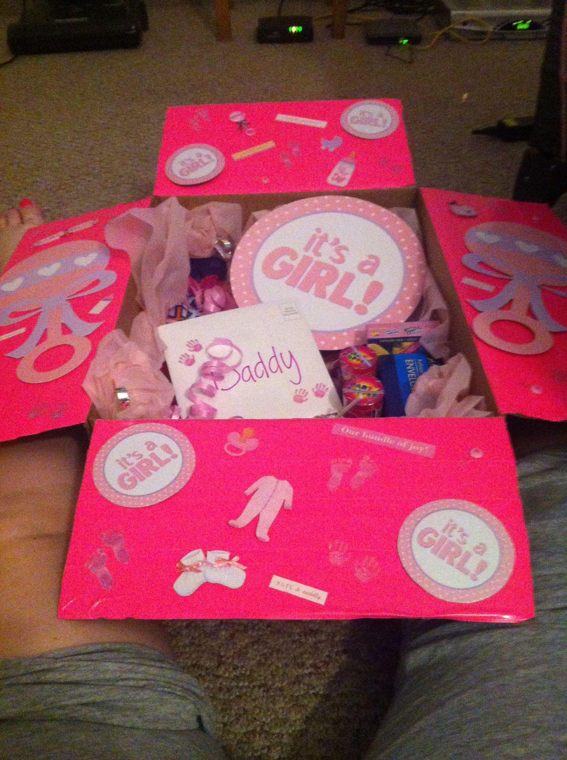 It s a girl theme care package My husband deployed 5 hours after