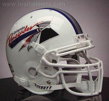 ORLANDO RENEGADES 1985 USFL Football Helmet DECALS