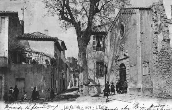 Les Caillols LEglise Photographies Marseille