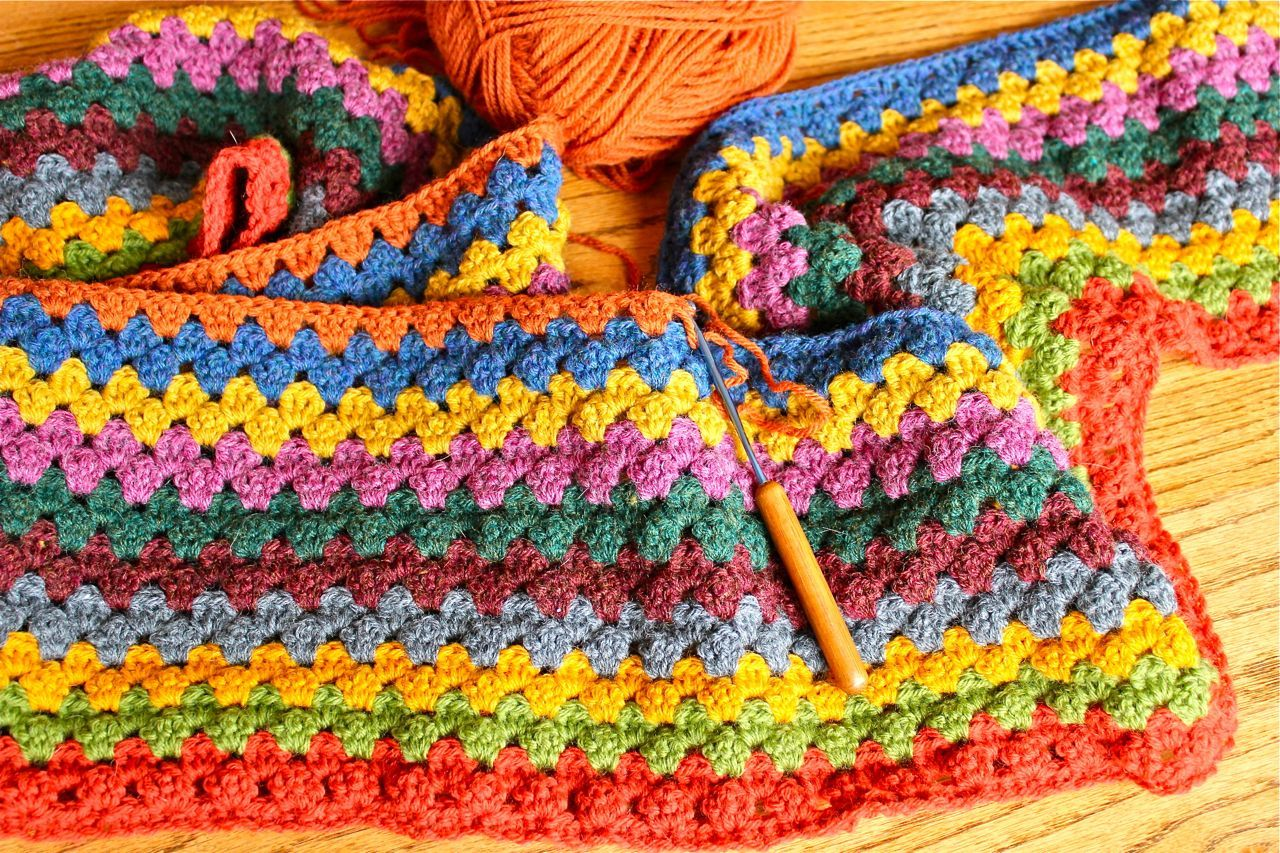 Scissors and Steam: The (mostly) Weekly Granny Stripe Update ...