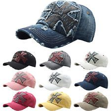 b9aac6b079f B24 Women Urban Vintage Look Cross Emblem Design Ball CAP Baseball HAT  Truckers