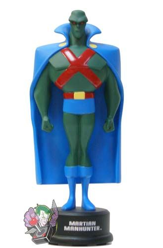 DC Collectibles - Justice League Animated Martian Manhunter Mini Maquette (Superhero Figures) - 1up Collectibles