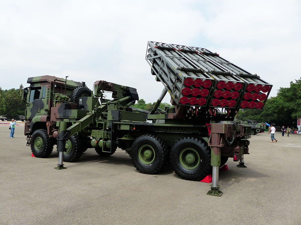 Thunderbolt 2000 MLRS 20131012 - 雷霆2000多管火箭系統