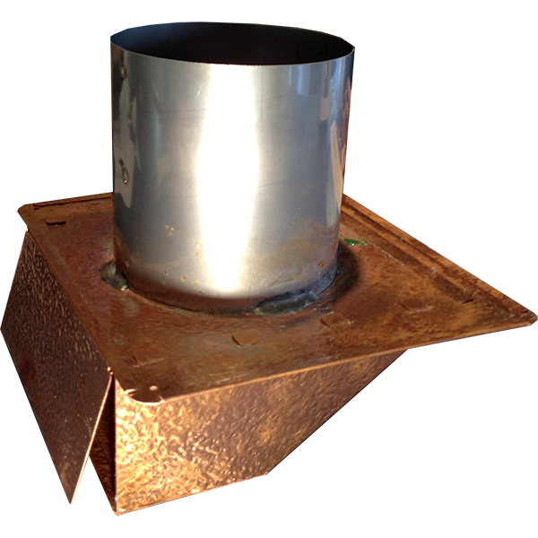 Under Eave Dryer And Exhaust Vent Cap Is Great For Soffit Installations Made Of Stainless Steel Copper And Hammered Copp Exhaust Vent Dryer Vent Roof Drain