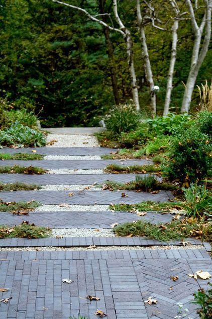 Contemporary Landscape By Matthew Cunningham Landscape Design Lots Of Naturalized Native Designs Landscape Design Modern Landscaping Garden Paths