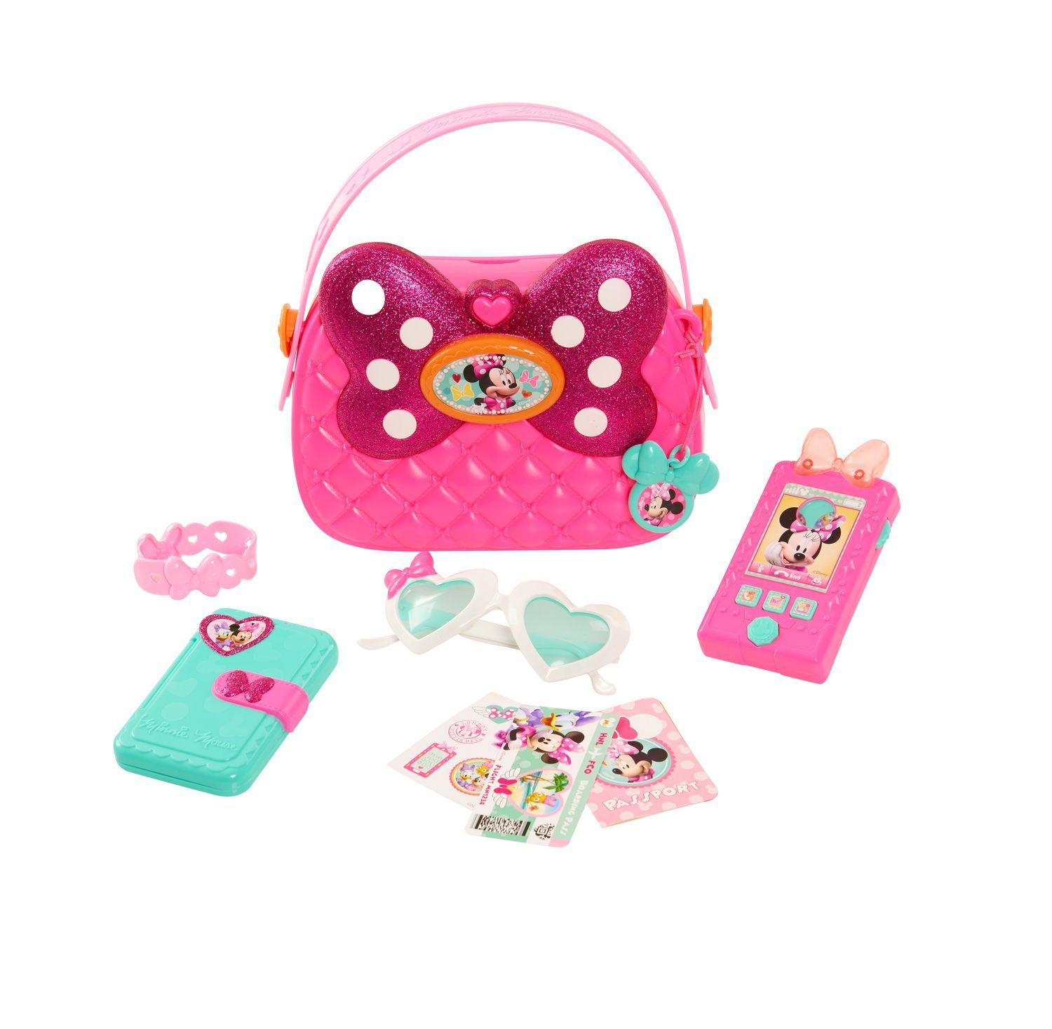zoomed image Minnie mouse purse, Minnie toys, Toddler