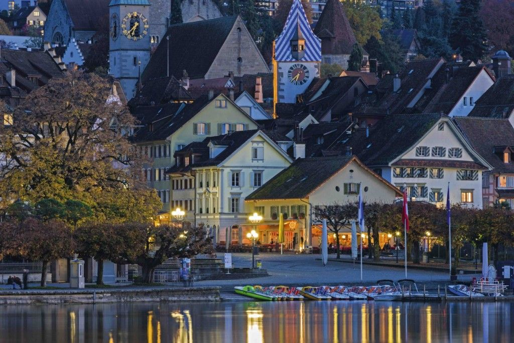 A Cultural Journey through the Zurich Region - Zug Old Town, Zurich Region #travel #Europe Pinned by http://www.iconiceurope.com/