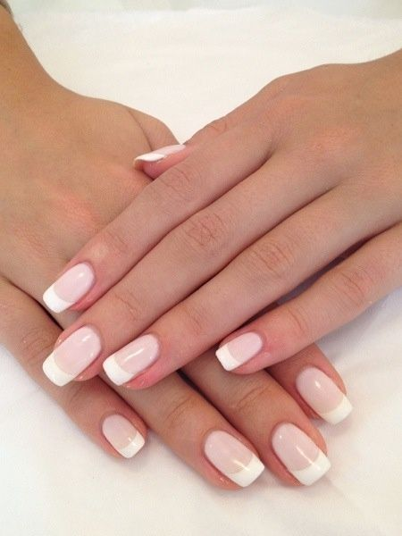 Maybe just simple french tip nail ill do 195769b717bff