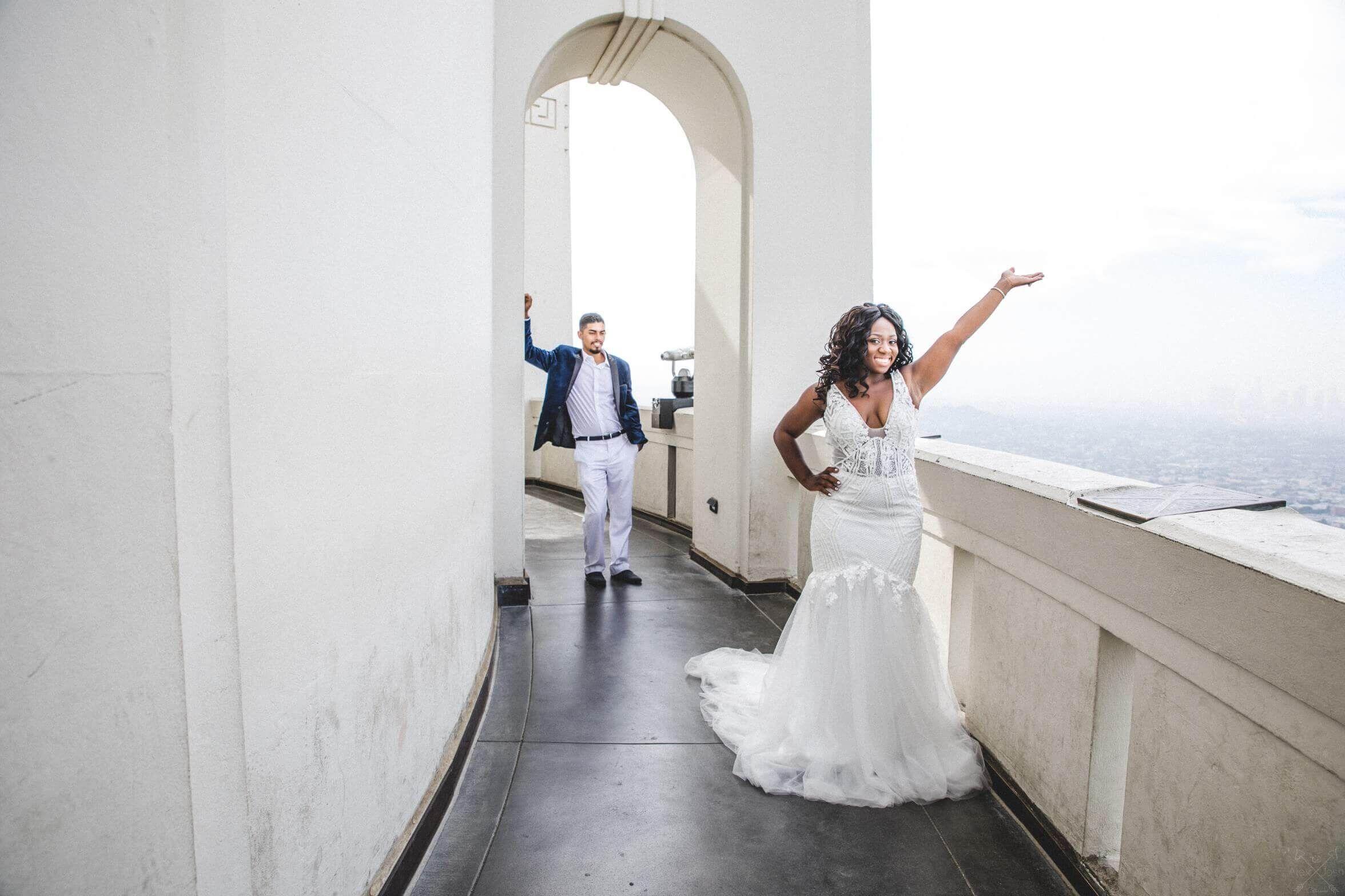 Griffith Observatory Wedding Photos Beach Wedding Photographer Griffith Observatory Wedding Wedding Photos