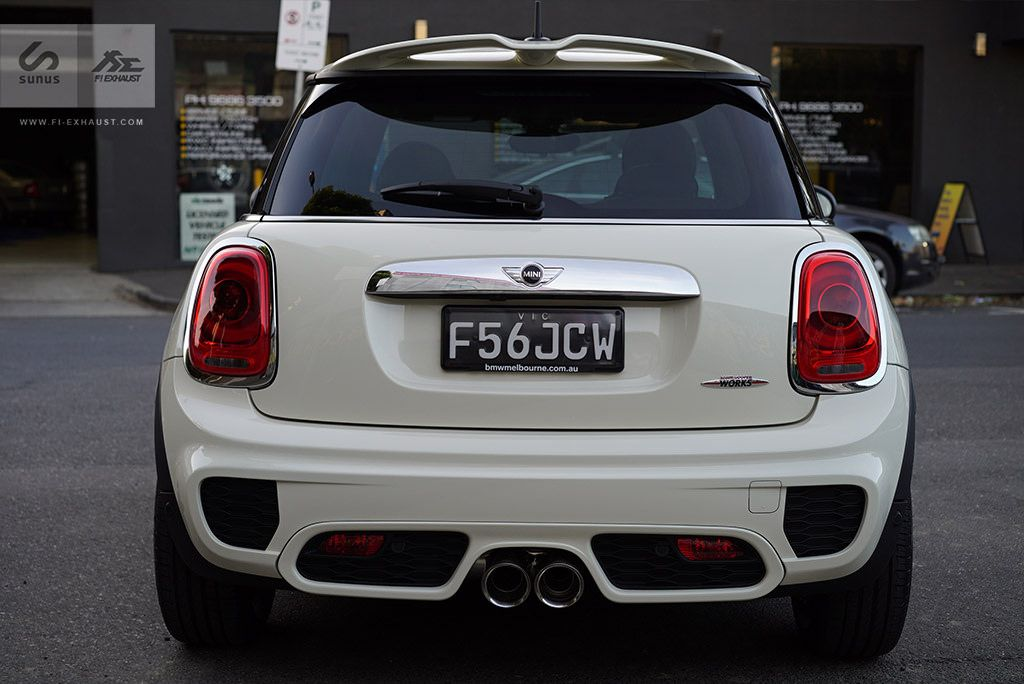 Installation Of Mini Cooper S F56 With Fi Exhaust Mini Cooper