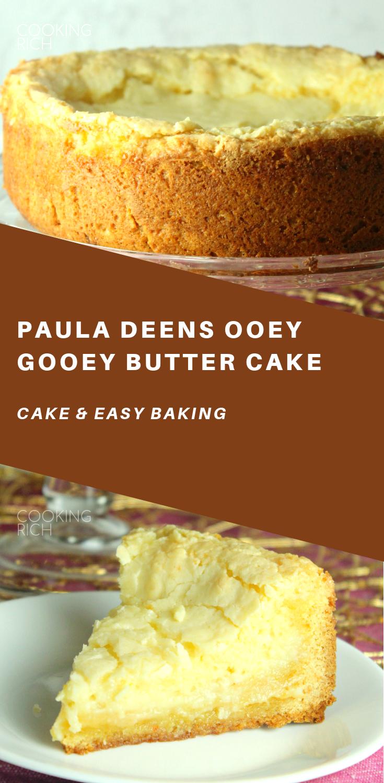 Paula Deens Ooey Gooey Butter Cake Healthy Cake Recipes Desserts Ooey Gooey Butter Cake