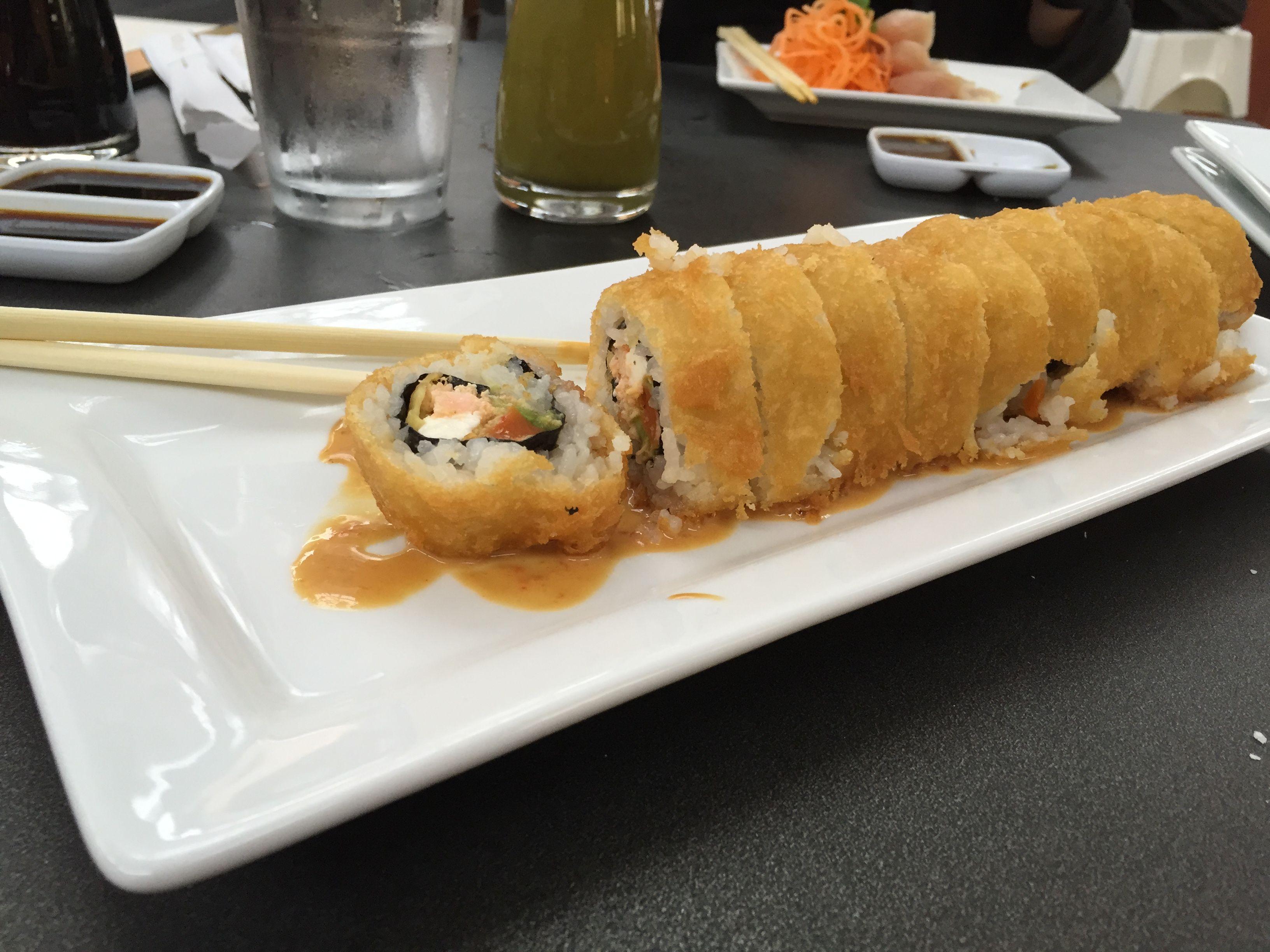 I had deep fried sushi today