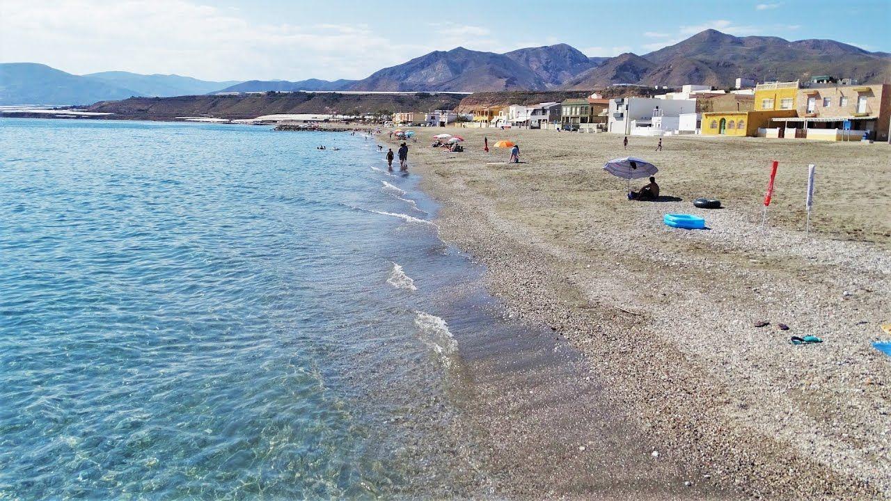 Playa De Balanegra Berja Almería Playa Almería Andalucía