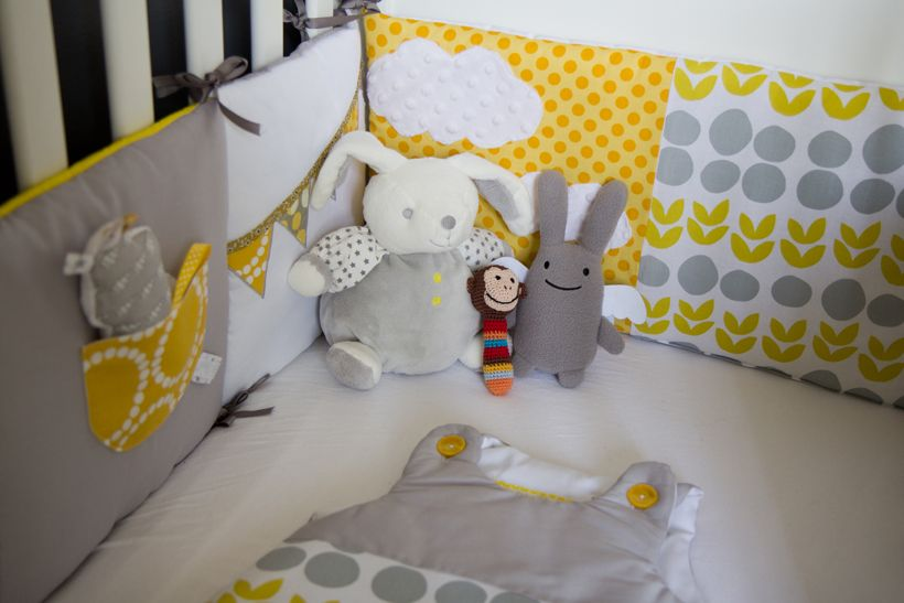 1000 images about chambre jaune on pinterest cloud pillow grey and bebe - Chambre Bebe Jaune Moutarde