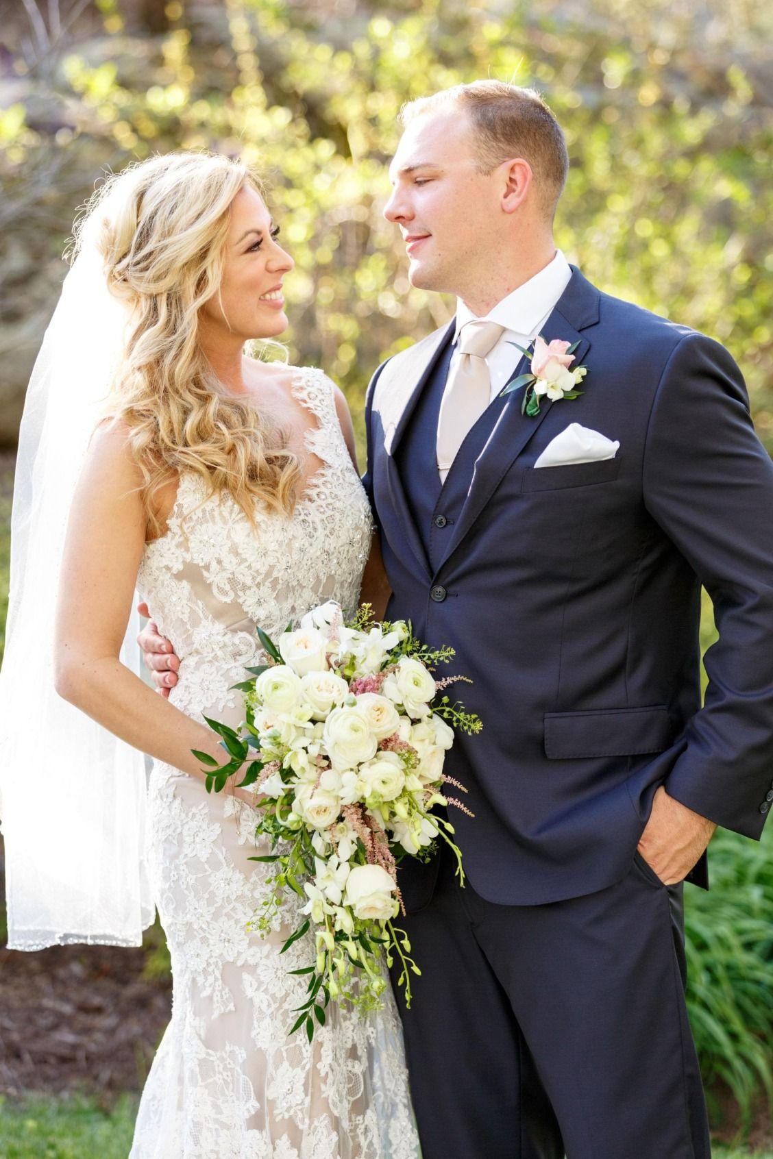 Classic Natural Nuptials In Powhatan Blue Wedding DressesBlue