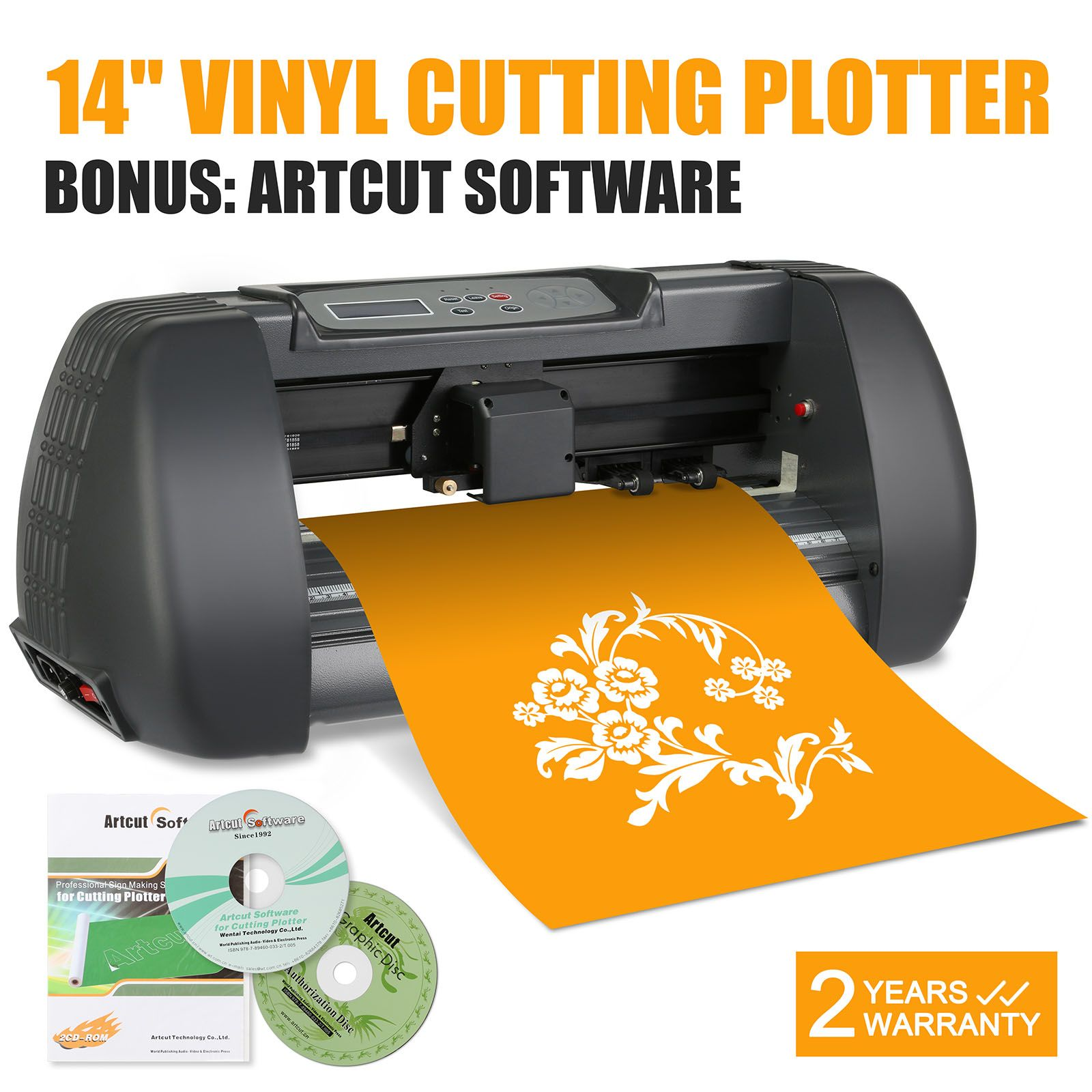 New Vinyl Cutter CuttingPlotter Machine Portable Artcut - Vinyl decal printing machine