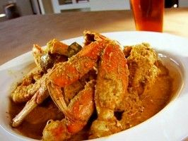 Curried Crab with Coconut and Chili : Recipes : Cooking Channel