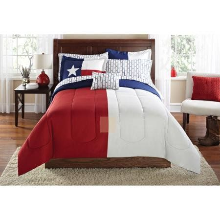 Lone Star Texas State Flag Bed In A Bag Coordinated Bedding Set 8pc Bed In A Bag King More Info Could Be Fo Red Bedding Bedroom Bed In A Bag