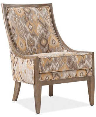 Helena Printed Fabric Accent Chair Direct Ship For The