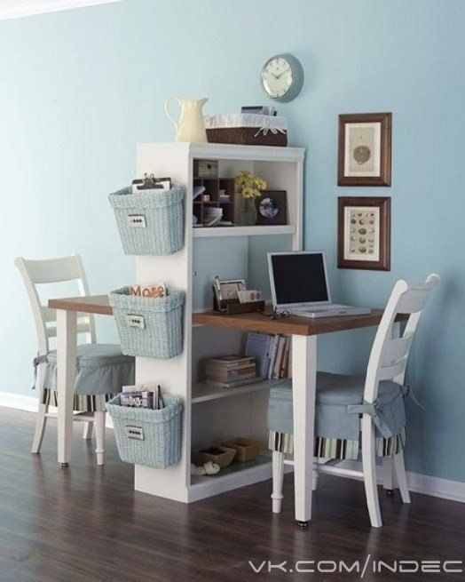 Double desk! Wow!!! I like  this for the kids home school area!