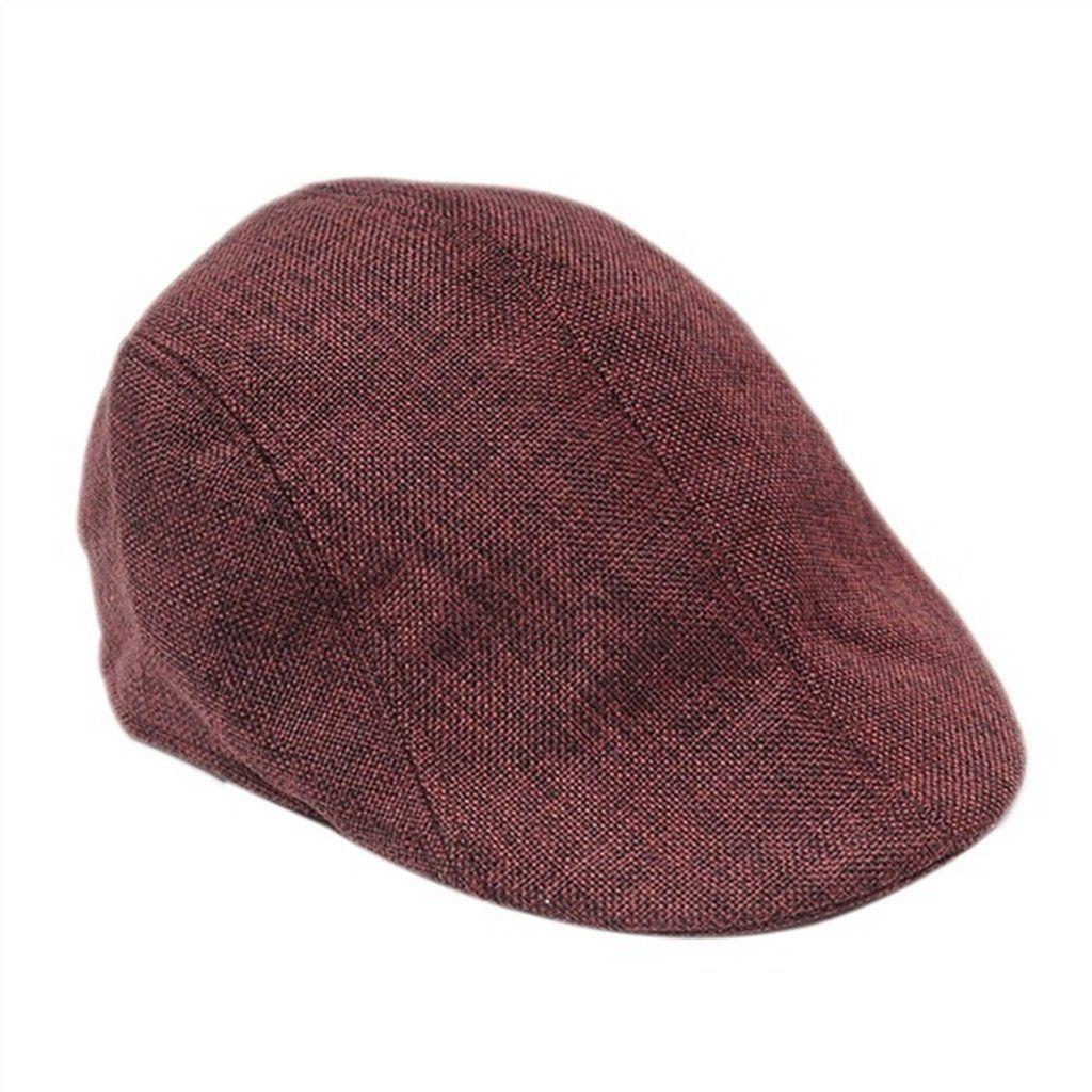 0dd9b1be58d Mens Retro Baker Boy Peaked NewsBoy Country Outdoors Golf Hat Beret Flat Cap