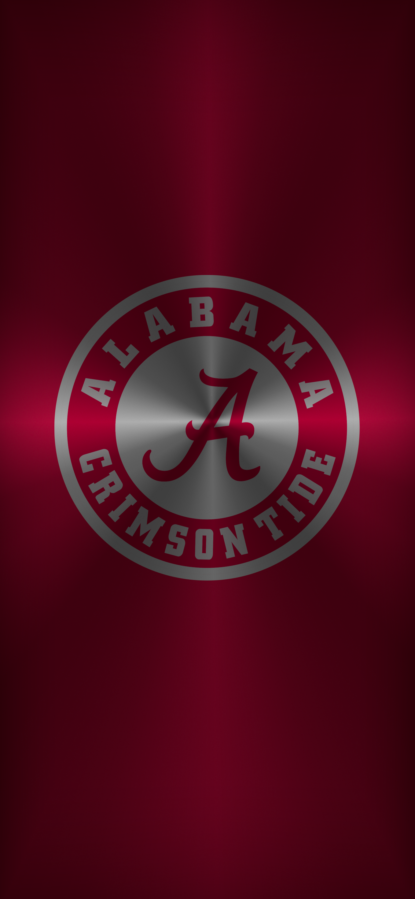 Bama Logo 14 Metal Alabama Crimson Tide Logo Alabama Wallpaper Alabama Crimson Tide