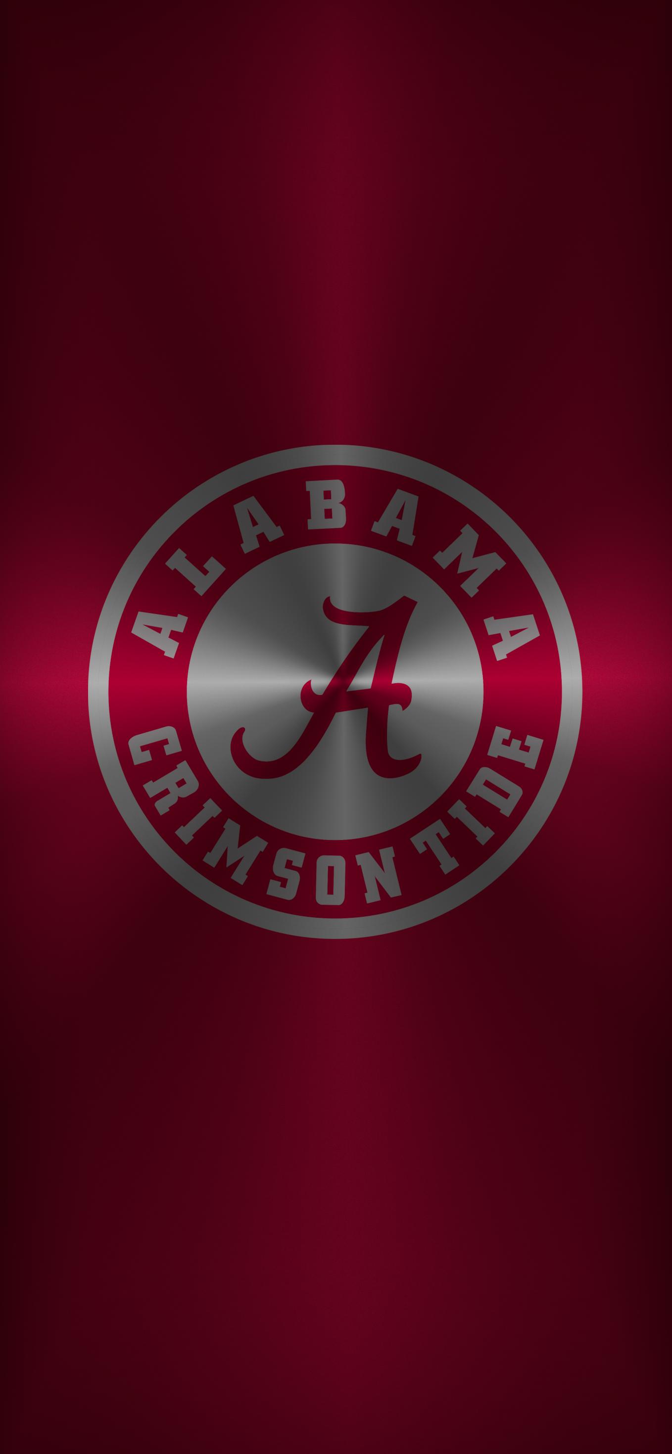 Bama Logo 14 Metal Alabama Crimson Tide Football Wallpaper Alabama Crimson Tide Logo Alabama Crimson Tide