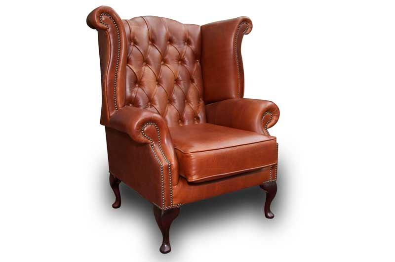 Chesterfield Sofastuhl Stuhl Leder Sofa