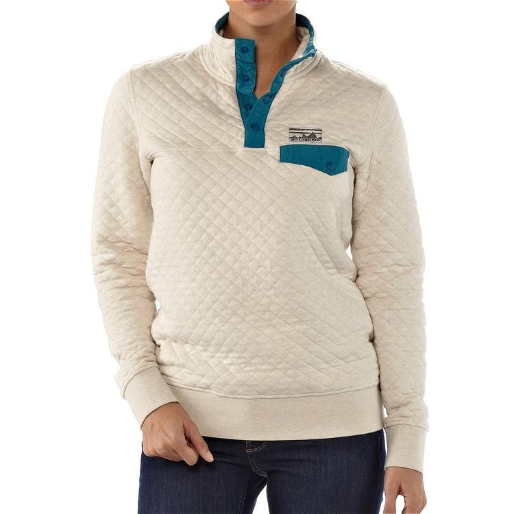 Women S Cotton Quilt Snap T 174 Pullover Cotton Quilts