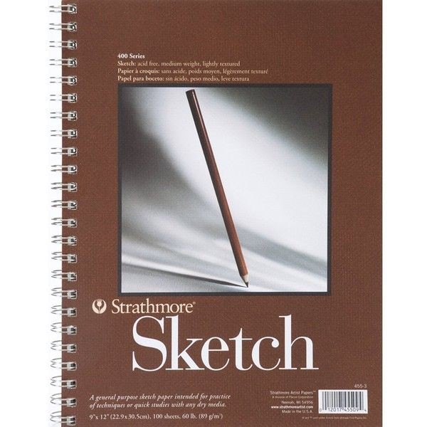 Strathmore Series 400 Sketch Pads 9 In X 12 In Pad 100