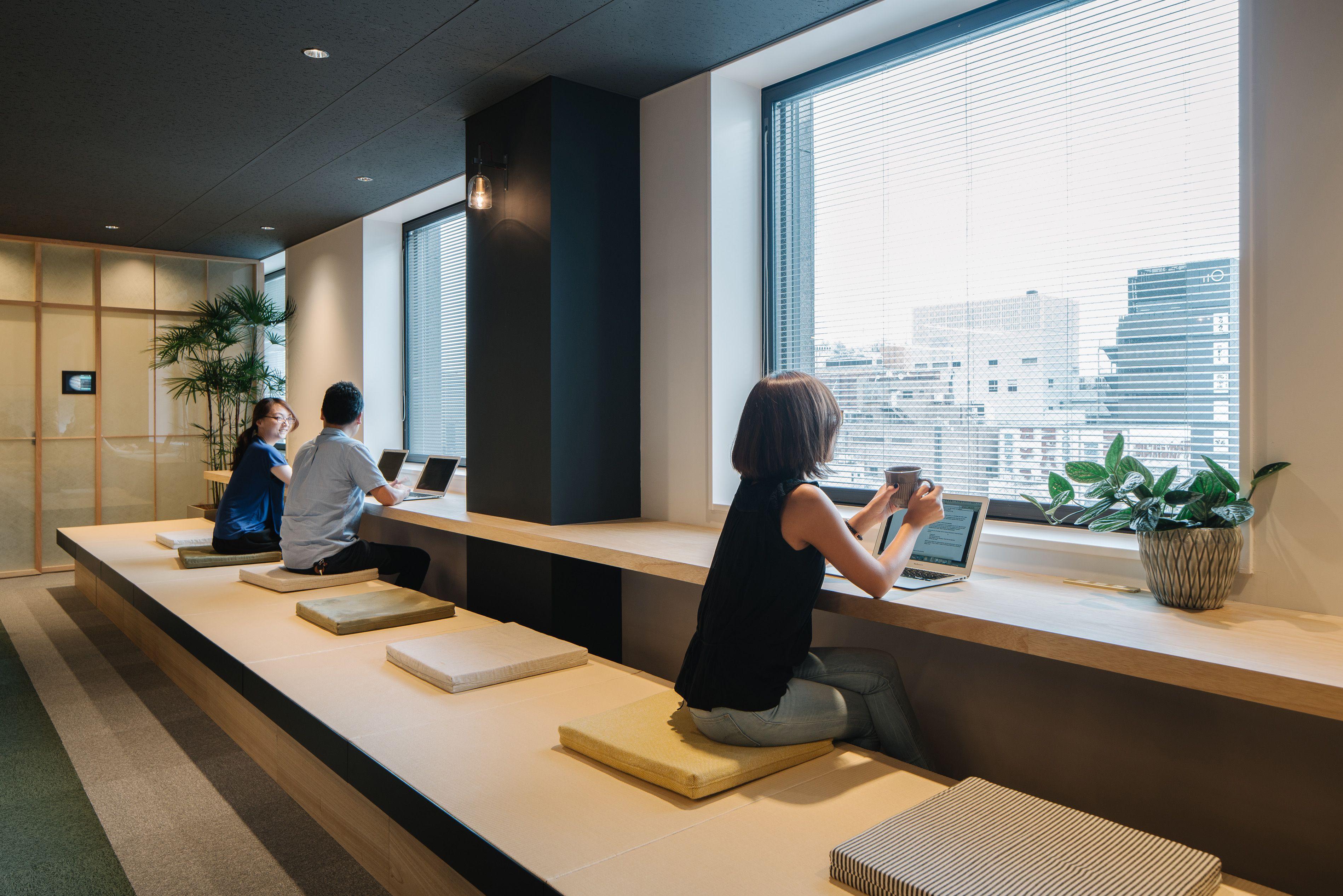 ผลการค้นหารูปภาพสำหรับ tokyo loft office window sill bureau