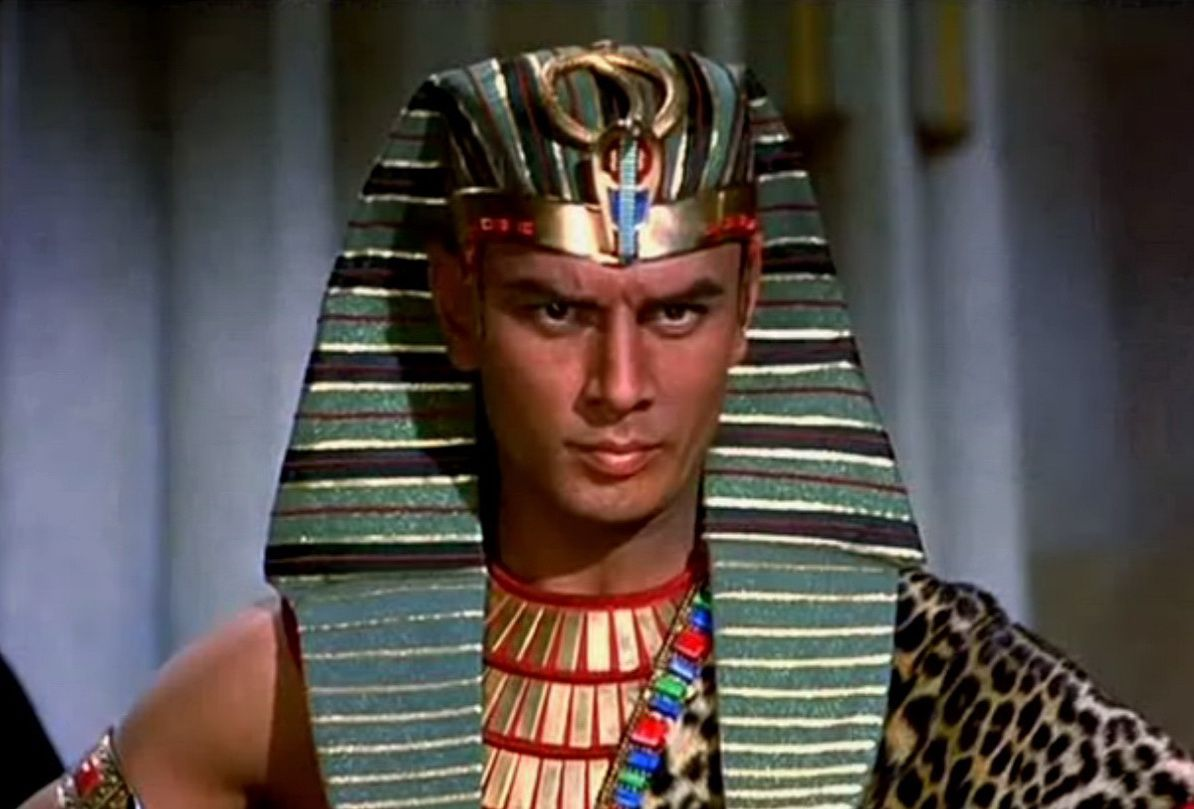 Image result for yul brynner as ramses
