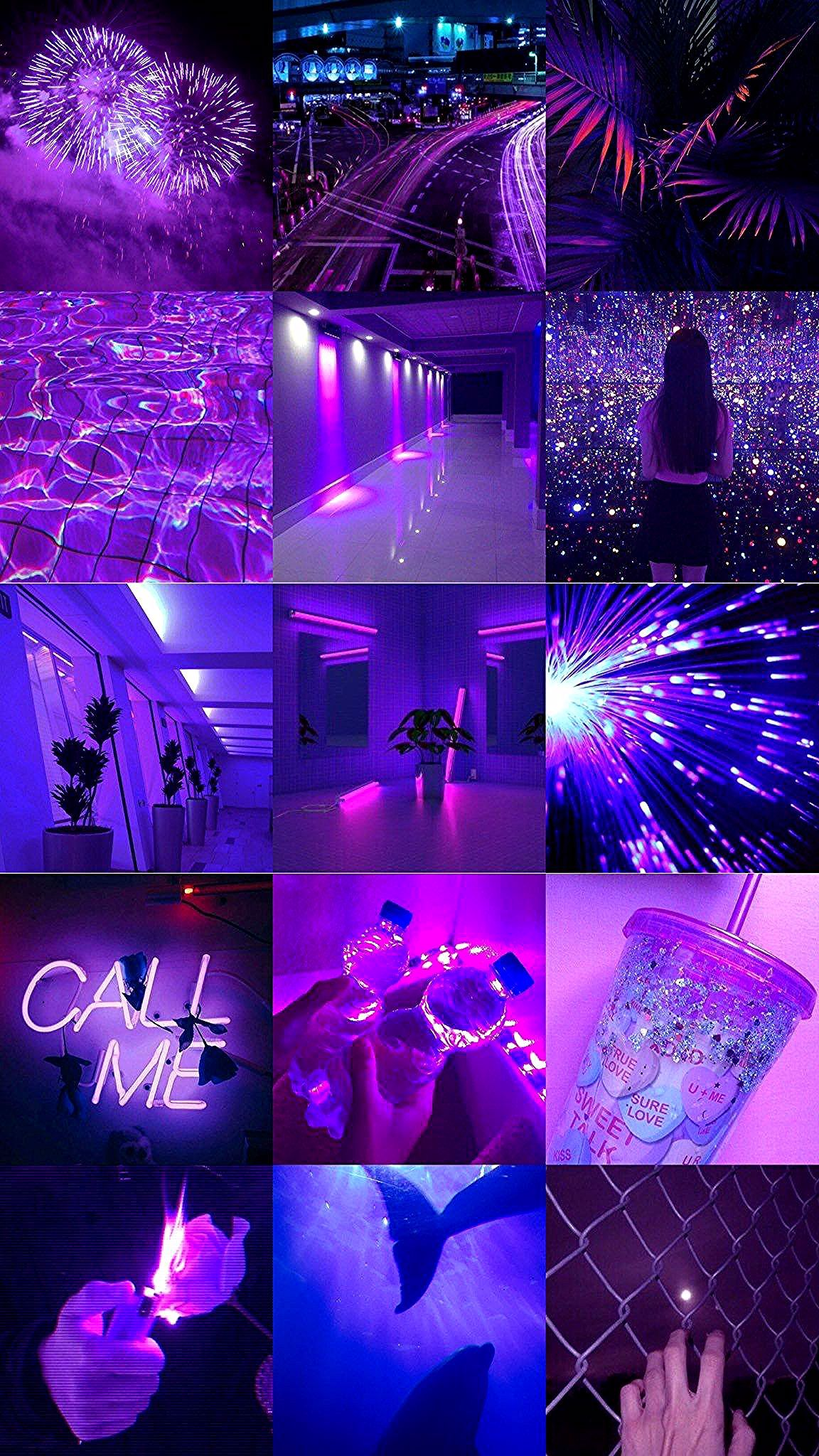 Purple Aesthetic Tumblr Iphone Wallpaper