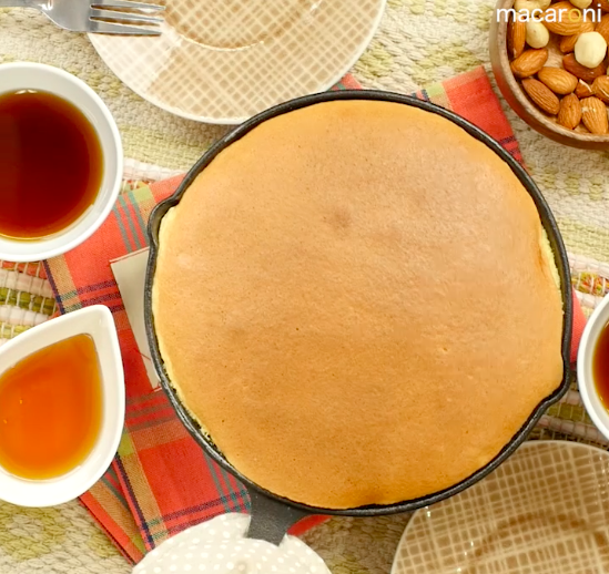 まるでパンケーキ!「ぐりとぐら」カステラの簡単レシピ