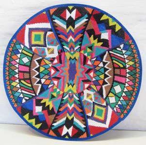Africa   Ntombifuthi Magwaza, Telephone wire basket. South Africa.