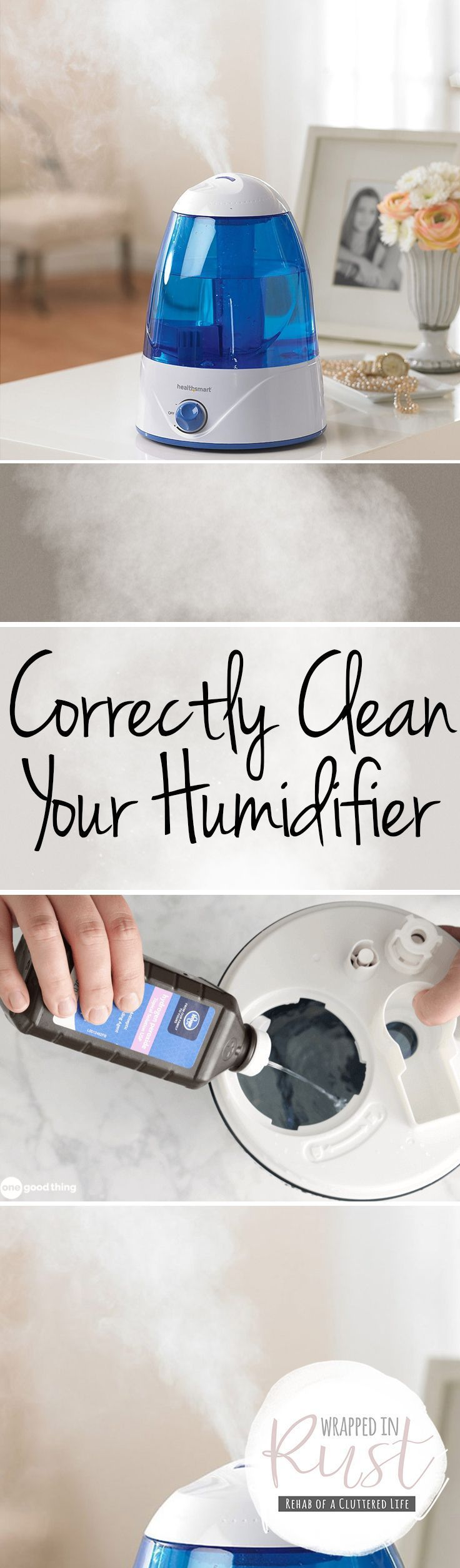 Correctly Clean Your Humidifier - Wrapped in Rust